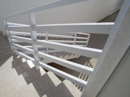 Grade Modelo Cerquinha Alumínio Anodizado Branco